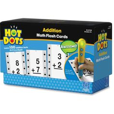 Hot Dots Flash Cards, Addition Facts 0-9 - 36/ST