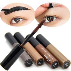 Nuovo Arrivo 4 Colori Sopracciglio Crema Mascara Eye Brow Dell'ombra di Trucco Strumenti di Bellezza Impermeabile Gel Sopracciglio Enhancer Marrone Sopracciglia