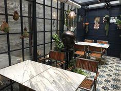 Cafe Focasa, Itaewon, Hannam-dong, Seoul, Korea Korea Cafe, Seoul Cafe, South Korea, The Neighbourhood, Places To Go, Patio, Outdoor Decor, Wanderlust, Korean