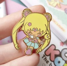 Enamel pin Chic Kawaii sailor moon magical girl pastel pins