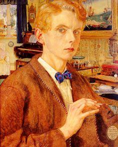 George Owen Wynne Apperley painted this self portrait.
