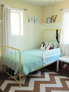 Cute room for a little girl.