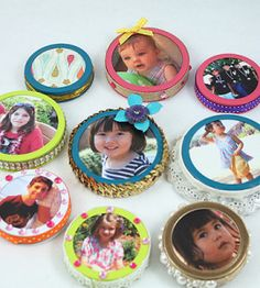 Mason jar lids on pinterest jar lids canning jar lids for Country woman magazine crafts