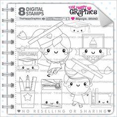 Graduation Stamp 80OFF COMMERCIAL USE Digi Digital Image