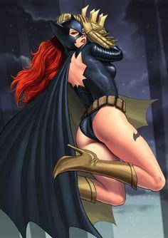 Batgirl by qoiwrng