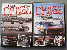The Big Drags Vol 1 2 Drag Racing DVDs 1963 1973 Funny Cars Dragsters More | eBay