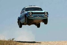 Escort Mk 1 Rally Car - If cars can fly Escort Mk1, Ford Escort, Ford Capri, Sports Car Racing, Race Cars, Ford Motor Company, Vintage Racing, Vintage Cars, Side Car