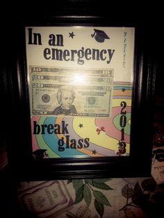 Great gift idea for a high school grad.