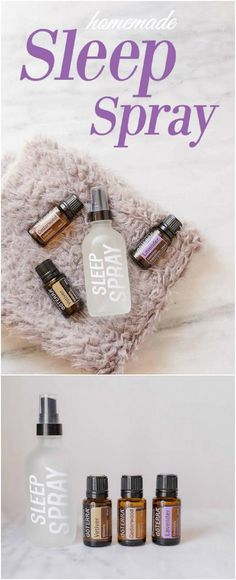 Natural Homemade Sleep Spray