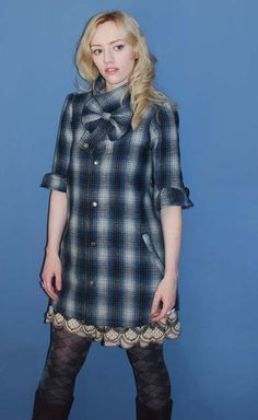 SUMOMOSUKI Wool Flannel Shirt Coat (via @NOTCOT)