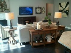 Family Room   All Furniture And Accesories From Bassett Furniture In Concord,  N.C.