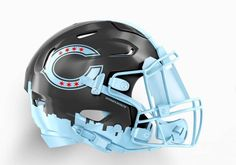 NFL Helmet Concepts Based on Cities That Need To Be Made Football Cleats, Football Helmets, Star Wars Helmet, Chicago City, Chicago Bears, Nfl, Hats, Sports, Cities