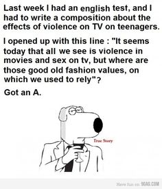True Story Brian Griffin