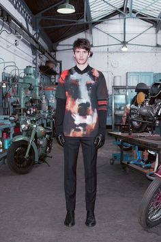 Doberman is the new rottweiler. View more pictures of Ricardo Figueiredo in the new Givenchy fall 2013 men's lookbook after the break