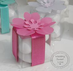 Bomboniere Le Petit Fleur Scatoline di MyWeddingSweetLove