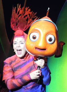 Finding Nemo - the Musical / Dinoland USA - Disney's Animal Kingdom park.  Get a list of 45 Disney World freebies and lots of great trip planning information at http://www.buildabettermousetrip.com/disney-freebies/