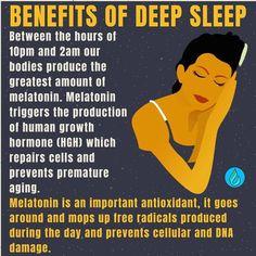 Growth Hormone, Our Body, Health And Nutrition, Sleep Better, Dreams