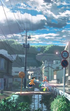 After the rain, we run on [by 雪町]