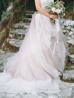 Tendance Robe du mariage 2017/2018  Gorgeous ombre tulle wedding dress: www.stylemepretty | Photography: Ksenia M