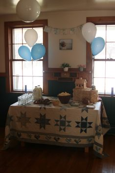 Love this idea for a Little House on the Prairie birthday party.