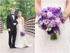 Purple Wedding Arrangements, Wedding Flowers, Country Club Wedding, Bridesmaid Dresses, Wedding Dresses, Boutonnieres, Free Wedding, Bridal Bouquets, Floral Design