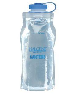 Water supply: Nalgene Flexible Cantene
