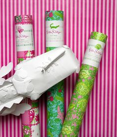 Lilly Pulitzer + Gift Wrap