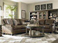 Elegante and classic leather sofa sets