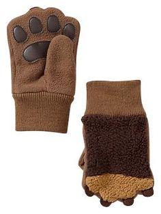 Pro Fleece paw mittens