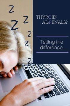 Thyroid or adrenals? Adrenal Fatigue Symptoms, Thyroid Symptoms, Hypothyroidism, Feeling Tired All Day, Anterior Pituitary, Stress Factors, Chronic Stress