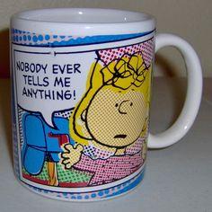 Peanuts Sally Brown Coffee Mug $25.00