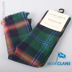 Young Tartan Scarf. Free worldwide shipping available