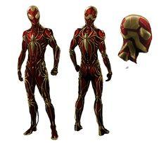 ArtStation - Iron Spider Concept (Fan Art), Guy Bourraine Jr