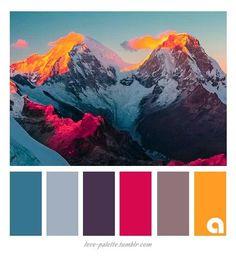 Colors, Palettes Hues
