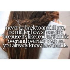 Never Go Back Quotes