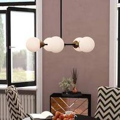 New Bautista 5 - Light Sputnik Sphere Chandelier by Willa Arlo Interiors. Lighting Home Decor Furniture 5 Light Chandelier, Sputnik Chandelier, Modern Chandelier, Lustre Globe, Metal Canopy, Large Chandeliers, Modern Rustic Interiors, Globe Lights, Light Shades