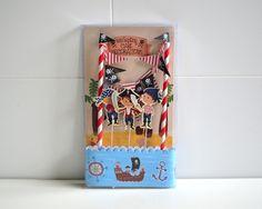 Dekoration - Piraten Kuchendekoration Girlande - ein Designerstück von Sweet-Times bei DaWanda