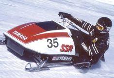 Vintage Sled, Vintage Racing, Snow Machine, Snowmobiles, Yamaha, Vehicles, Jet, Snow, Car