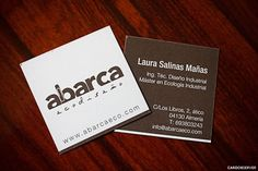 The vanillaretro brand eco friendly kraft cardstock business cards online business cards reheart Gallery