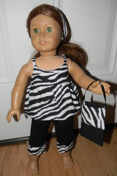 New+Handmade+Black+and+White+Zebra+Outfit+with+by+SewbyJen+on+Etsy,+$12.99