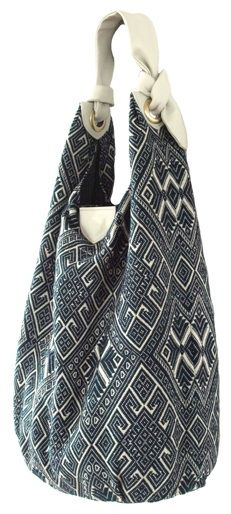Fair trade/hand made kilim beach bag