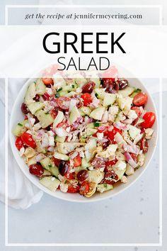 Greek Salad - Jennifer Meyering