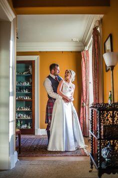 Colstoun House Summer Wedding, Bride & Groom window lit portrait. Bride Groom, Wedding Bride, Buick, Summer Wedding, Window, Portrait, Photography, House, Photograph
