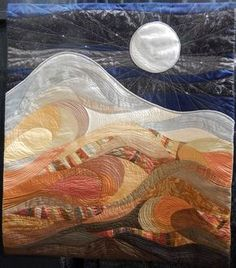^= ❤ Cat Patches ~ Northwest Quilting Expo ~ Moondance by Diane Browning Fabric Art, Textile Art, Art Inspiration