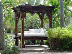 Outside Bed balinese daybed with canopy - bing images | naples | pinterest