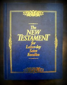 The New Testament for Latter-Day Saint Families HC 1998 LDS.Mormon First Print