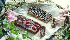 Roh vegane Tartes - Roh vegane Tartes Cashew Cream, Vegan Chocolate, Raw Vegan, Cheese, Recipes, Food, Pie, Cooking Recipes, Koken