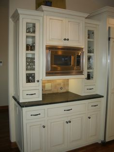 kitchen gray cabinets just an idea free microwave shelf plans how to 1781
