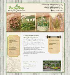 Garden Shop - http://gardenshop.fi/ #nettisivut #kotisivut