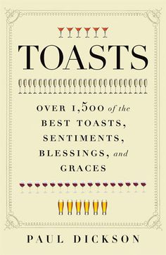 read, 'Toasts: Over 1,500 of the Best Toasts, Sentiments, Blessings and Graces' Book | Nordstrom